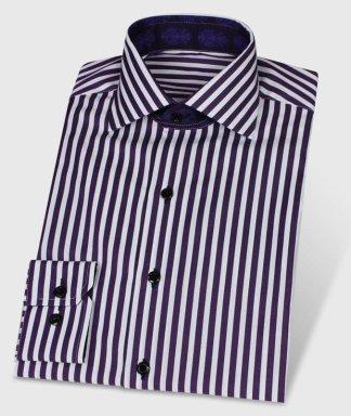 Exkluzivní festivalová košile s proužkami Violet
