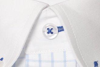#1348: Hellblau-Weiß kariert (Stoff nicht mehr lieferbar)