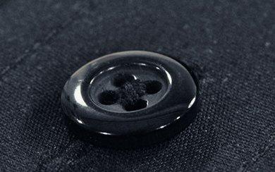 Schwarz flach
