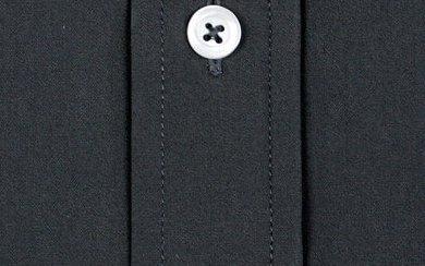 Baumwollhemd Anthrazit