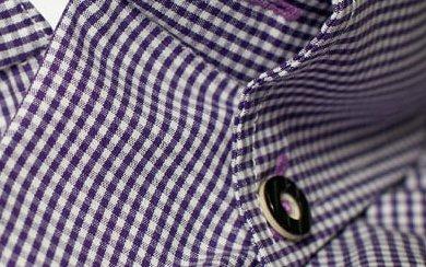 Buttondown an Trachtenhemd