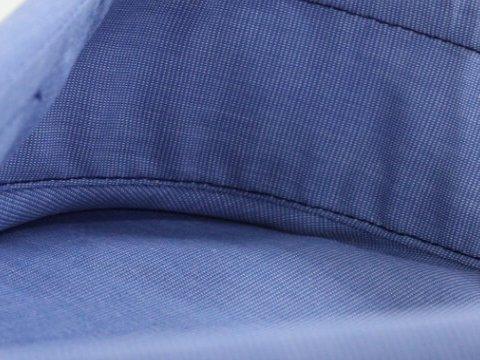 Innenansicht Kentkragen Blau
