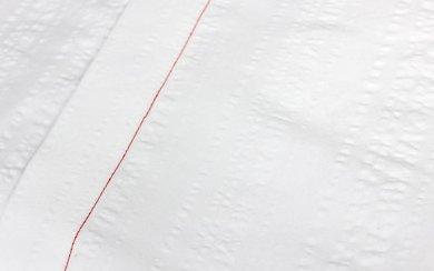 Seersucker Weiß