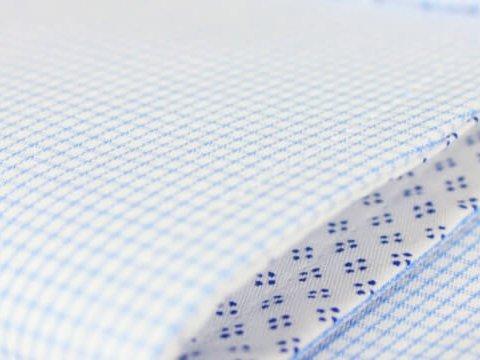 Hellblau kleinkariert 100 baumwolle ma hemden von hemdwerk for Innendesign englisch