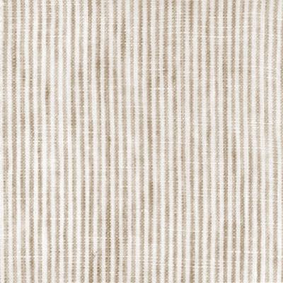 hemdwerk - #1835 Leinen Dunkelbraun gestreift