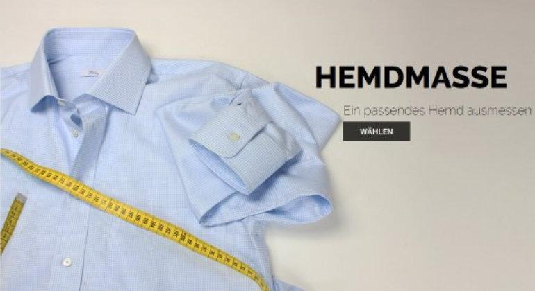 Wie nimmt man Maße für ein Maßhemd von einem anderen Hemd