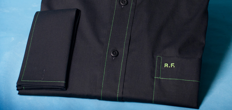 monogram position shirt pocket