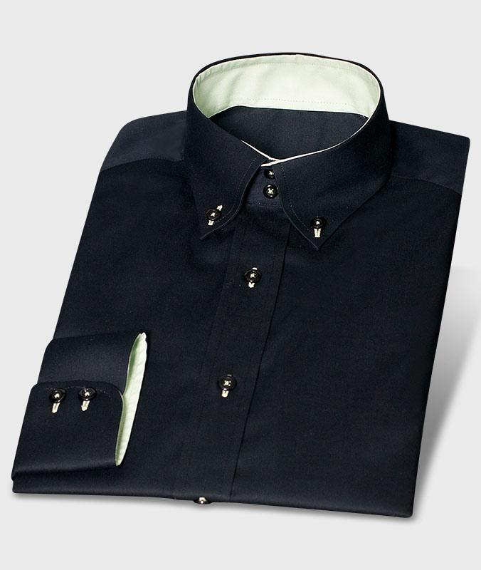 rosa karo hoher kragen ma hemden von hemdwerk. Black Bedroom Furniture Sets. Home Design Ideas
