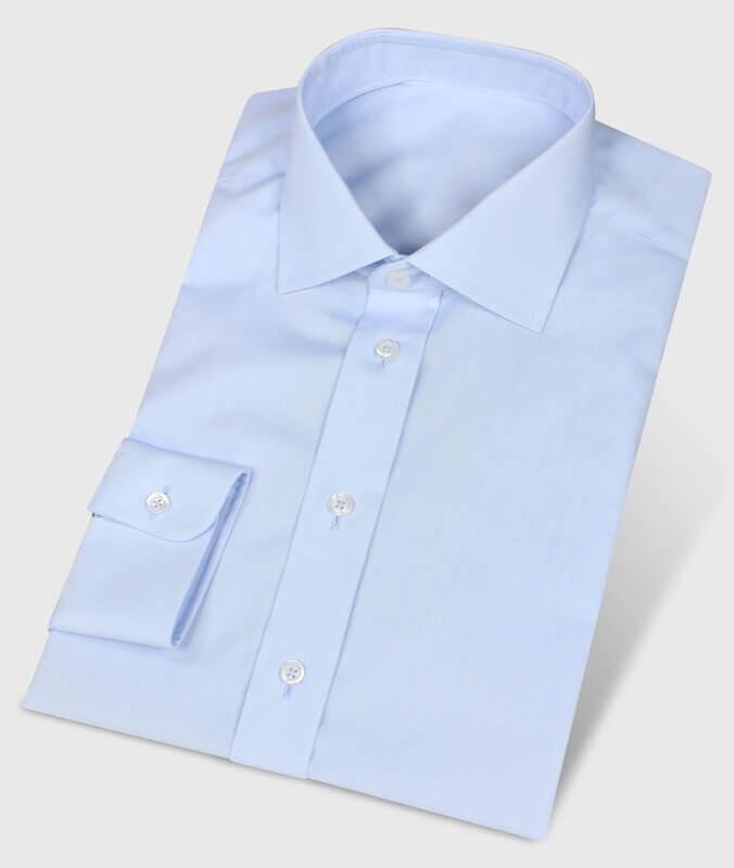 Wrinkle-free Hemd Business Style hellblau