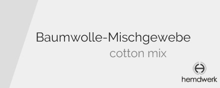 Hemden aus Baumwol-Mischgewebe